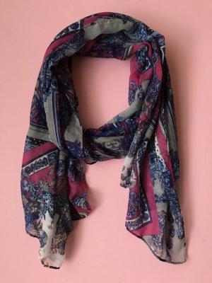 s.Oliver Zijden sjaal veelkleurig