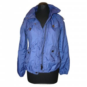 Burberry Short Jacket neon blue nylon