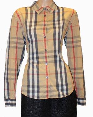 Burberry Shirt Blouse brown cotton