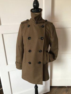 Burberry Cappotto corto marrone chiaro
