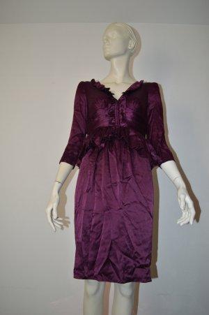 Burberry Abend Kleid Lila Gr. 36 XS wNEU Seide