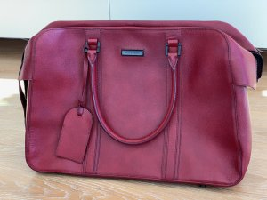 Burberry Porte-documents rouge carmin