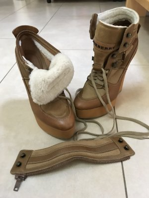 Burberry Prorsum Low boot chameau-beige cuir