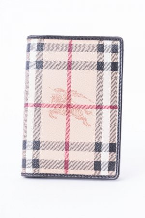 Burberry Porte-cartes multicolore cuir