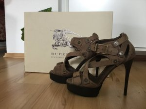 Burberry High Heels multicolored leather