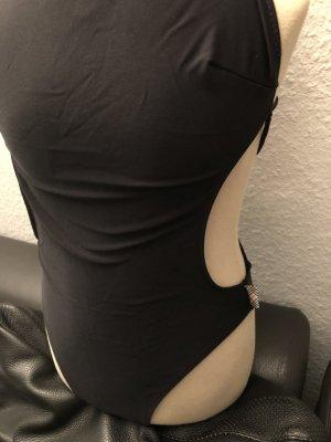 BURBERRY Badeanzug, Größe 36, Schwarz
