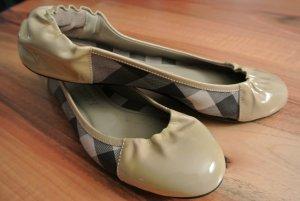 Burberry Patent Leather Ballerinas multicolored