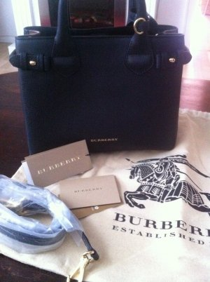 Burberry Banner Tote SM Black