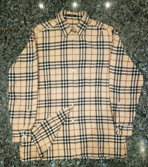 Burberry Baumwoll-Bluse mit Vintage Check-Muster