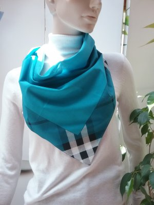 Burberry Foulard turquoise