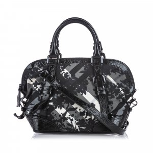 Burberry Satchel black nylon