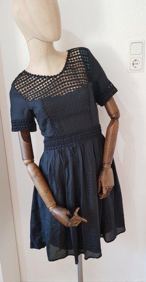 Burberry black label kleid aus Seide