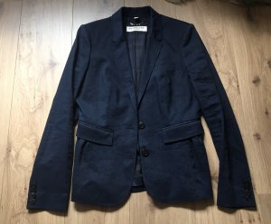 Burberry Blazer largo azul oscuro
