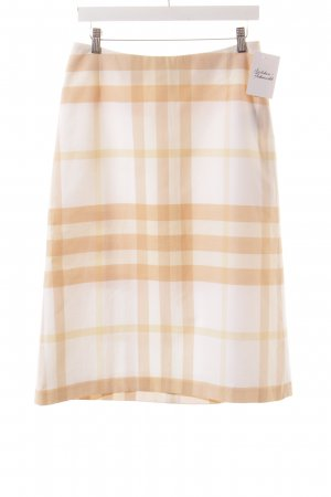 Burberry Pencil Skirt check pattern classic style