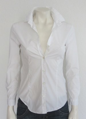 BURBERRY BLUSE GR. 32 WEISS
