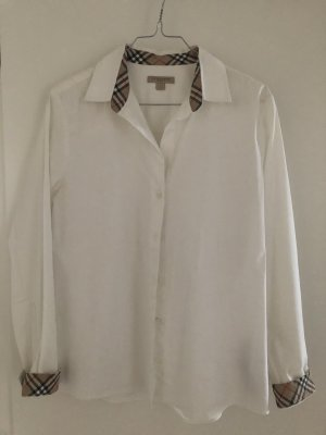 Burberry Shirt Blouse white cotton