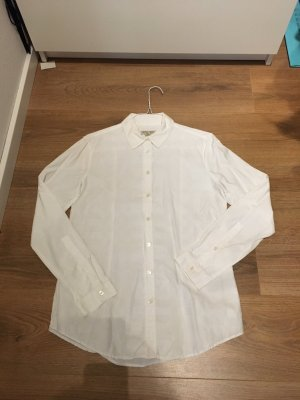 Burberry Blouse à carreaux blanc