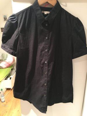 Burberry Bluse schwarz kurzarm