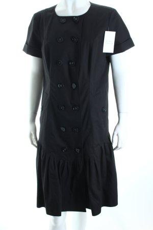 Burberry Blusenkleid schwarz klassischer Stil