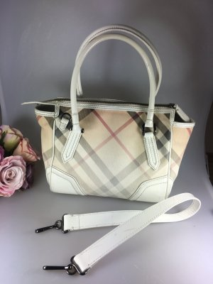 Burberry Sac bowling multicolore cuir