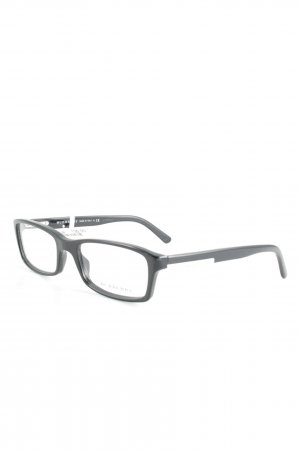 Burberry Brille schwarz-silberfarben Business-Look