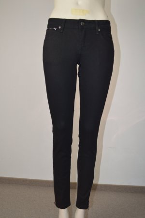 Burberry Brit Bexton Ankle Zip Skinny Jeans black, W 25, NP: 250€