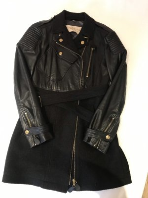 Burberry Brit Biker Jacket black-gold-colored