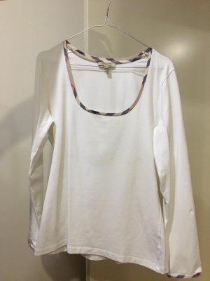 Burberry Brit Long Sleeve Blouse white-bronze-colored