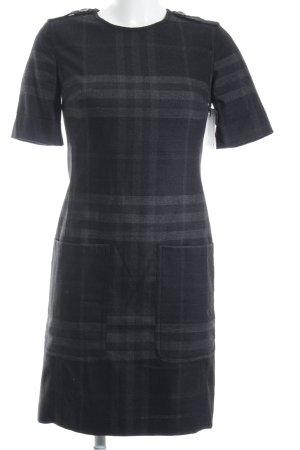 Burberry Brit Etuikleid grau-schwarz Karomuster Brit-Look