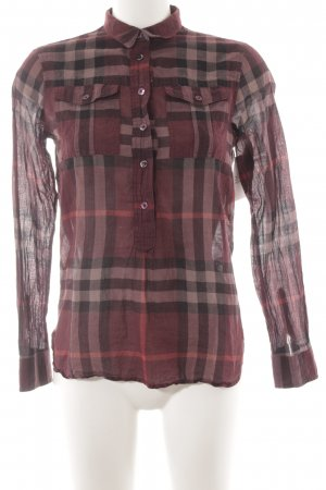 Burberry Brit Hemd-Bluse Glencheckmuster Casual-Look