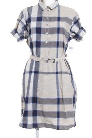 Burberry Brit Abito blusa camicia motivo a quadri stile casual
