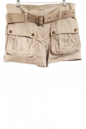 Burberry Brit High-Waist-Shorts khaki-grüngrau Safari-Look