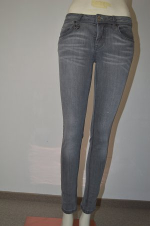 Burberry Brit Jeans skinny argento Cotone