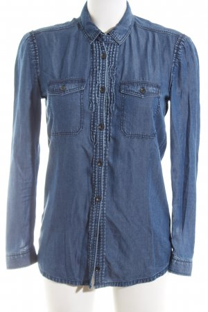 Burberry Brit Jeansbluse blau Casual-Look
