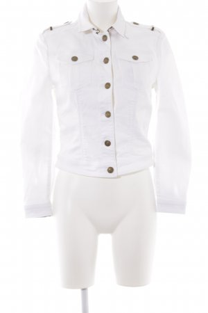 Burberry Brit Jeansjacke weiß Elegant