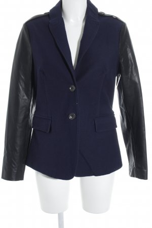 Burberry Brit Blazer corto nero-blu scuro stile casual