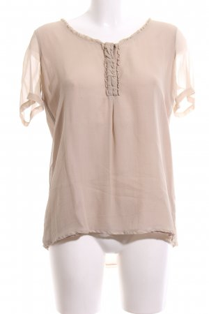Burberry Brit Short Sleeved Blouse natural white business style