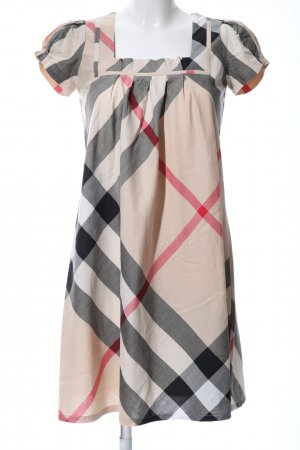 Burberry Brit Shortsleeve Dress check pattern casual look