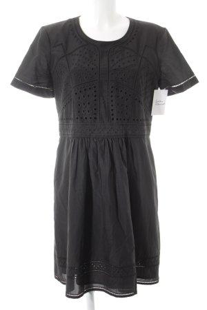 Burberry Brit Kurzarmkleid schwarz schlichter Stil