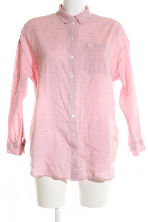 Burberry Brit Long Sleeve Shirt pink flecked casual look