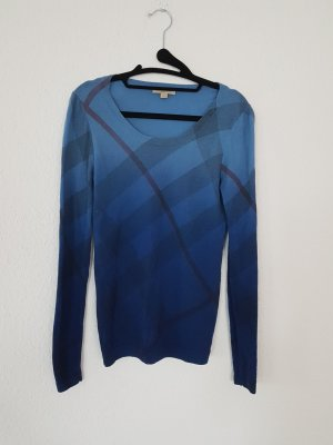 Burberry Brit Nova check Pullover mit ombré-look aus wolle und Kaschmir