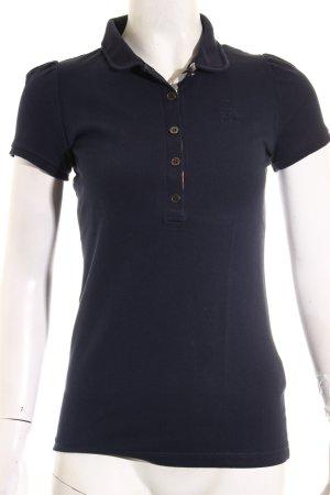 Burberry Brit Polo-Shirt dunkelblau sportlicher Stil