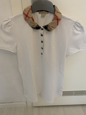 Burberry Polo Shirt white