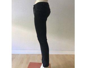 Burberry Brit Low Rise Jeans black-grey