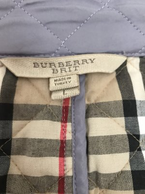 Burberry Quilted Jacket purple