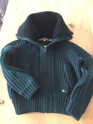Burberry Brit Strickjacke, Jacke Farbe Dunkelgrün und Schwarz Größe S