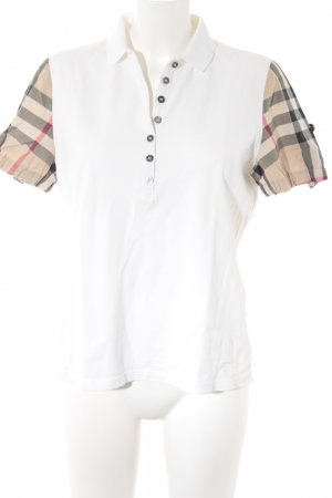 Burberry Brit T-Shirt weiß Casual-Look