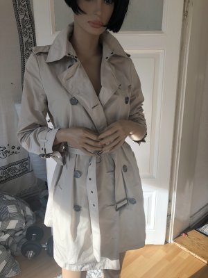 Burberry Brit Trenchcoat beige clair polyester