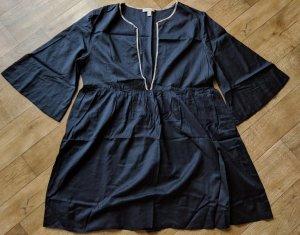 Burberry Brit Tunika Minikleid schwarz Cotton