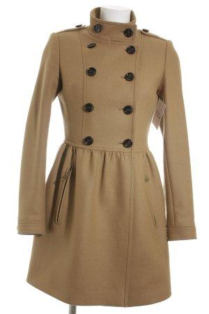 Burberry Brit Cappotto in lana color cammello Stile Brit